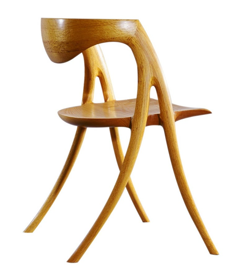 Brookhaven Chair by American Studio Craft Artist David N. Ebner For Sale